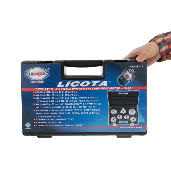 ست 7 عددی فیلتر باز کن لیکوتا ATA-5303