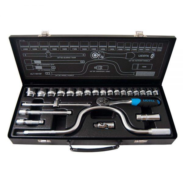 مجموعه 24 عددی آچار بکس لیکوتا مدل ALT-5015F